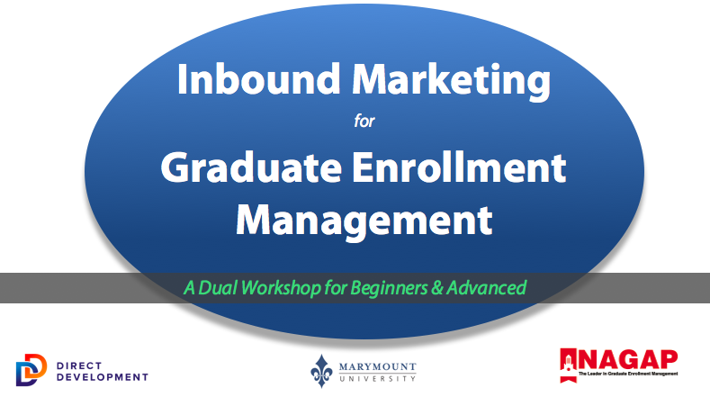 Inbound Marketing for Graduate Enrollment Management