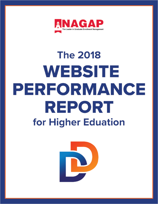 Website Performance Report Cover